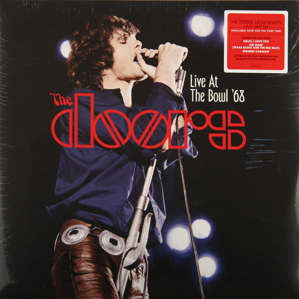 лучшая цена The Doors The Doors - Live At The Bowl '68 (2 Lp, 180 Gr)