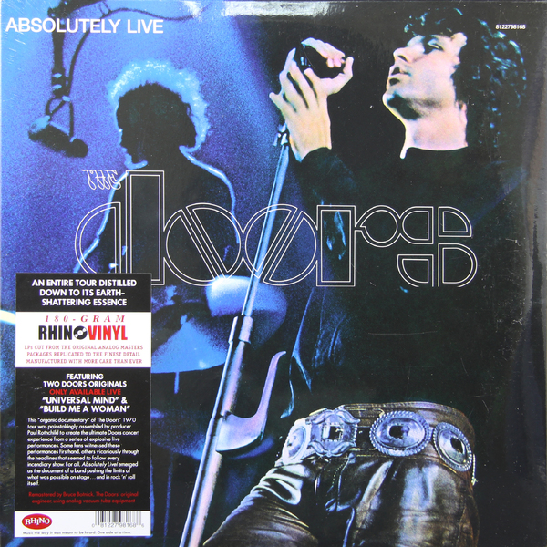 The Doors The Doors - Absolutely Live (2 Lp, 180 Gr) the doors the doors absolutely live 2 lp