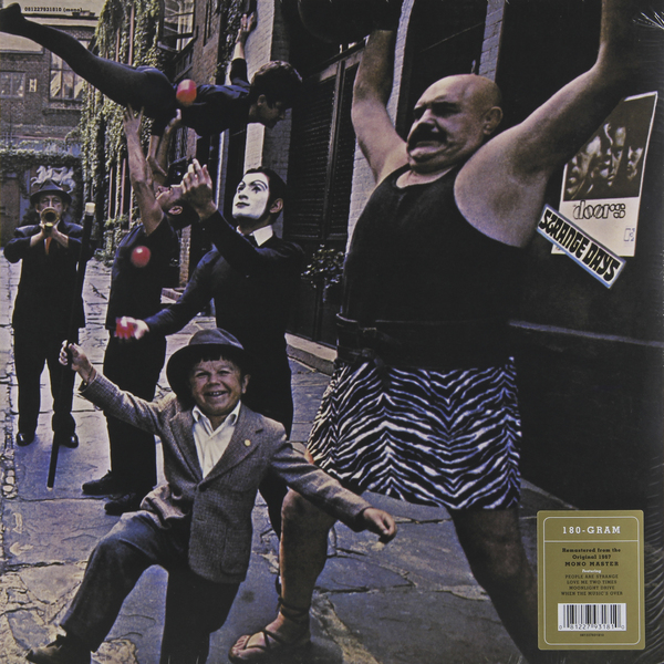 The Doors The Doors - Strange Days (50th Anniversary, Mono) (180 Gr) 180 days warranty100