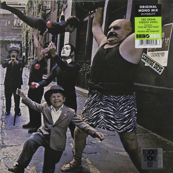 The Doors The Doors - Strange Days (mono) cd диск the doors when you re strange a film about the doors songs from the motion picture 1 cd