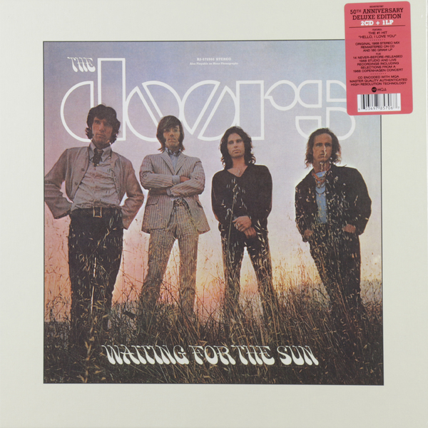 лучшая цена The Doors The Doors - Waiting For The Sun (50th Anniversary Edition) (lp + 2 Cd)