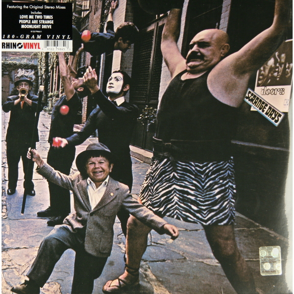 The Doors The Doors - Strange Days (180 Gr) Rhino Records cd диск the doors when you re strange a film about the doors songs from the motion picture 1 cd