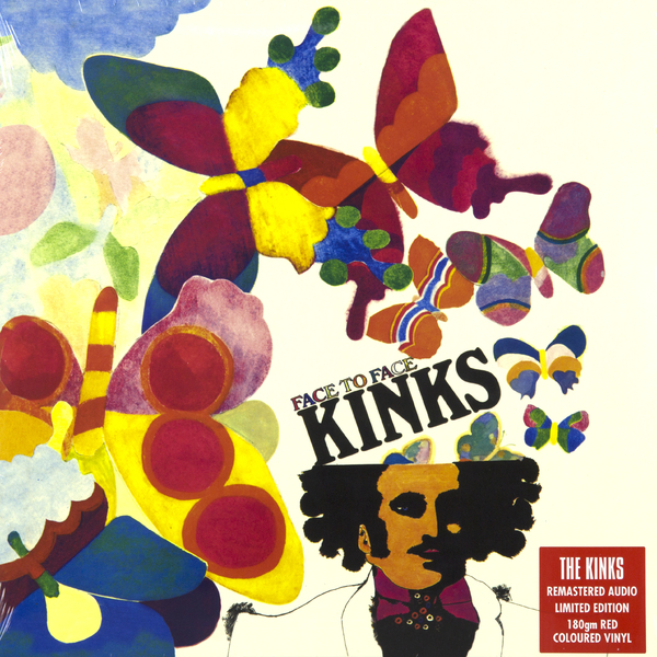 Фото - The Kinks The Kinks - Face To Face (180 Gr, Colour) concise colour block and circle pattern design men s slippers