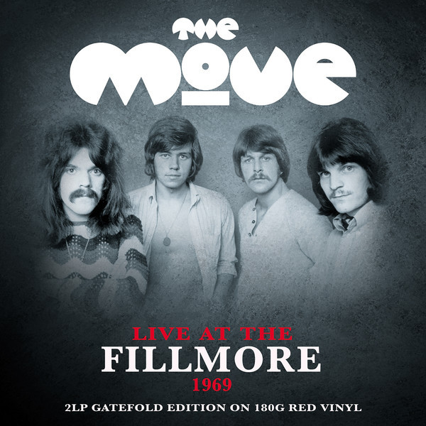 The Move The Move - Live At The Fillmore (2 LP) deja move deja move remember the past