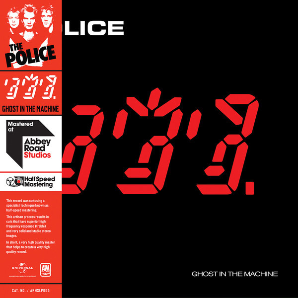 The Police The Police - Ghost In The Machine (half Speed Vinyl) laying the ghost