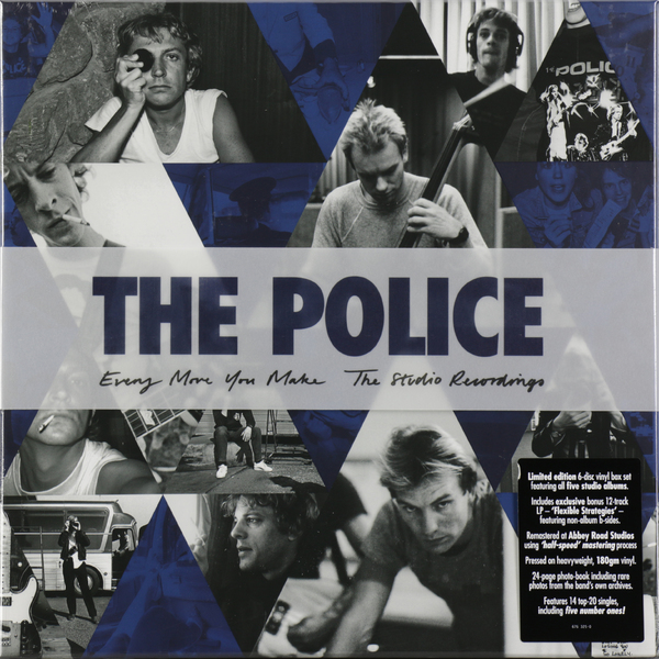 The Police - Studio Recordings (6 LP)