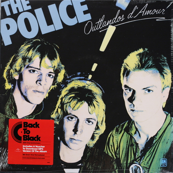 The Police The Police - Outlandos D'amour the police the police certifiable 3 lp