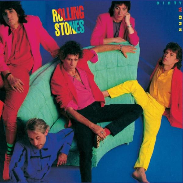 Rolling Stones StonesThe - Dirty Work (half Speed)