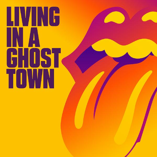 Rolling Stones StonesThe - Living In A Ghost Town (single, Colour)