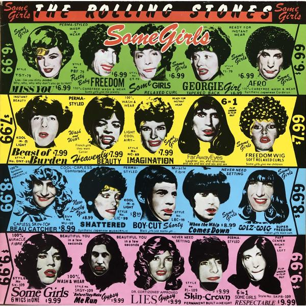 Rolling Stones StonesThe - Some Girls (half Speed)