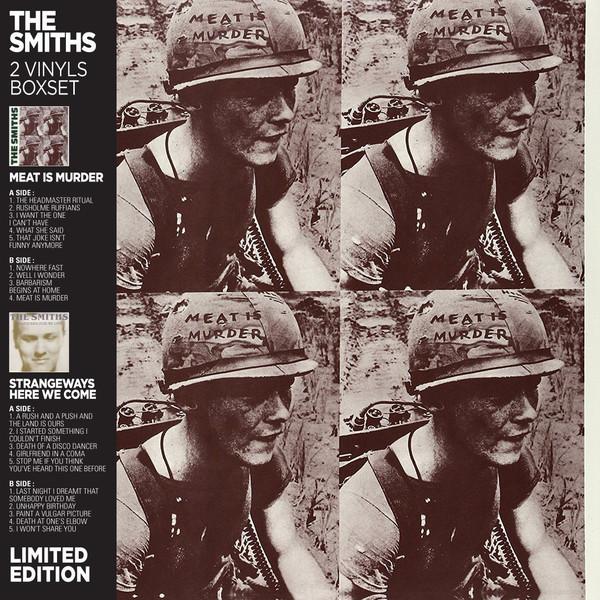 The Smiths The Smiths - Meat Is Murder / Strangeways Here We Come (2 LP) the smiths the smiths the world won t listen 2 lp