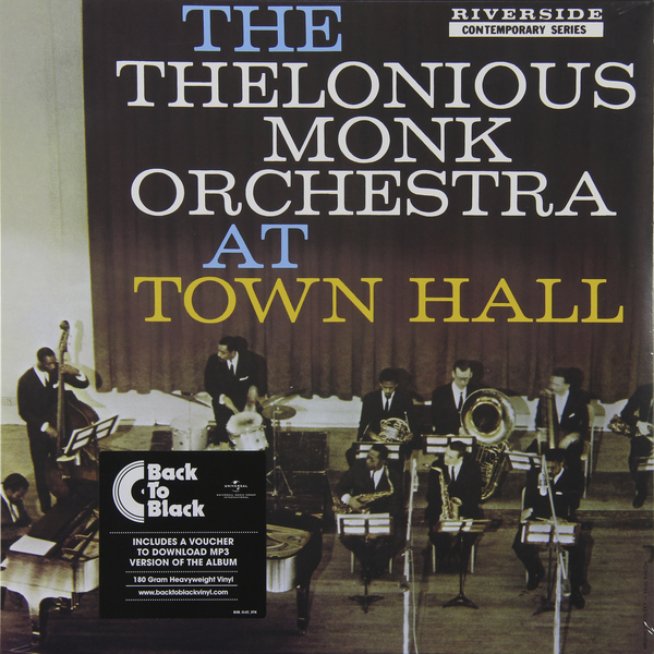 Thelonious Monk Thelonious Monk - At Town Hall (180 Gr) the thelonious monk orchestra the thelonious monk orchestra at town hall lp