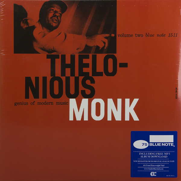Thelonious Monk Thelonious Monk - Genius Of Modern Music: Vol.2 (180 Gr) guano apes guano apes proud like a god 180 gr colour