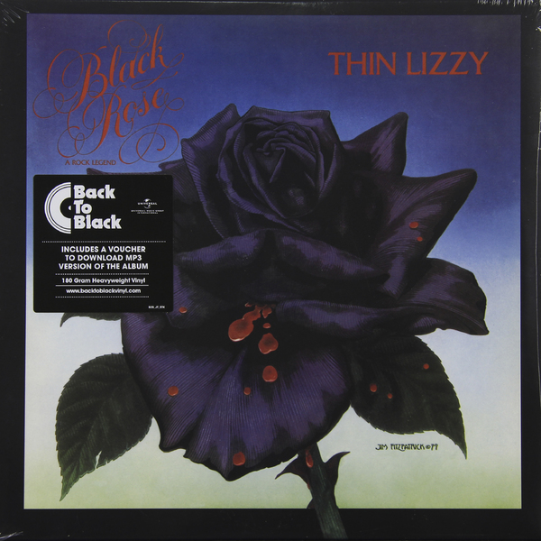 Thin Lizzy - Black Rose (180 Gr)