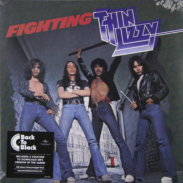 Thin Lizzy Thin Lizzy - Fighting (180 Gr) thin lizzy thin lizzy nightlife