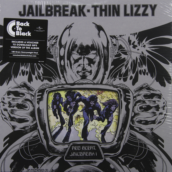 Thin Lizzy Thin Lizzy - Jailbreak (180 Gr) 2015 men hat thin breathable quick dry outdoor sunshade mesh baseball cap