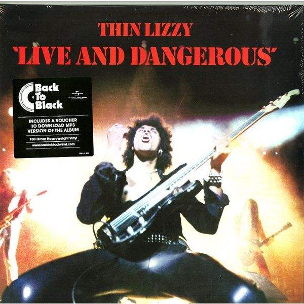 Thin Lizzy Thin Lizzy - Live And Dangerous (2 LP) solen automatic mechanical watches ultra thin waterproof watch men s simple and thin fashion quality steel date male clock