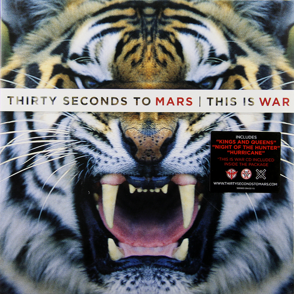 Thirty Seconds To Mars Thirty Seconds To Mars - This Is War (2 Lp + Cd) цена 2017