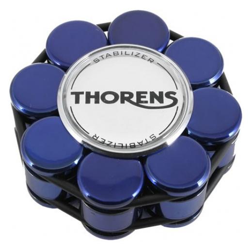 Прижим для виниловых пластинок Thorens Stabilizer Blue new blue motorcycle steering damper stabilizer with mounting bracket kit for yamaha mt09 mt 09 fz 09 2014 2015 2016