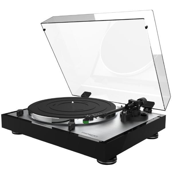Виниловый проигрыватель Thorens TD 402 High Gloss Black (VM95E) виниловый проигрыватель thorens td 295 piano black at95e rainier