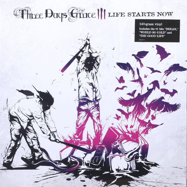 Three Days Grace Three Days Grace - Life Starts Now three