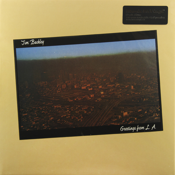 Tim Buckley Tim Buckley - Greetings From L.a. (180 Gr) cd jeff buckley grace