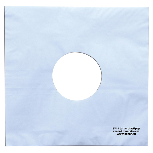 Конверт для виниловых пластинок Tonar 12 PLASTIPAP (25 шт.) (внутренний) конверт для виниловых пластинок analog renaissance 12 ar so 25 28 шт внешний