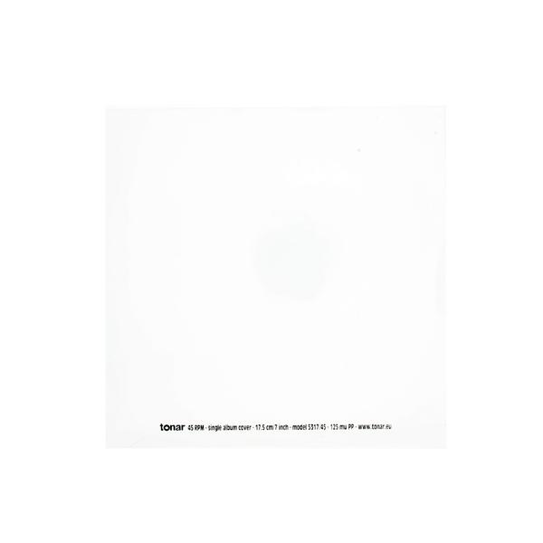 цена на Конверт для виниловых пластинок Tonar 7 45 RPM OUTER SLEEVE (50 шт.)