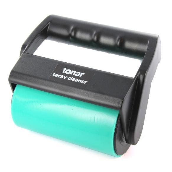 Товар (аксессуар для винила) Tonar Ролик для чистки пластинок Tacky Cleaner конверт для виниловых пластинок tonar 12 plastipap 25 шт внутренний