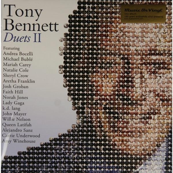 Tony Bennett Tony Bennett - Duets Ii (2 Lp, 180 Gr) 13pcs canbus car led light bulbs interior package kit for 2006 2010 jeep commander map dome trunk license plate lamp white