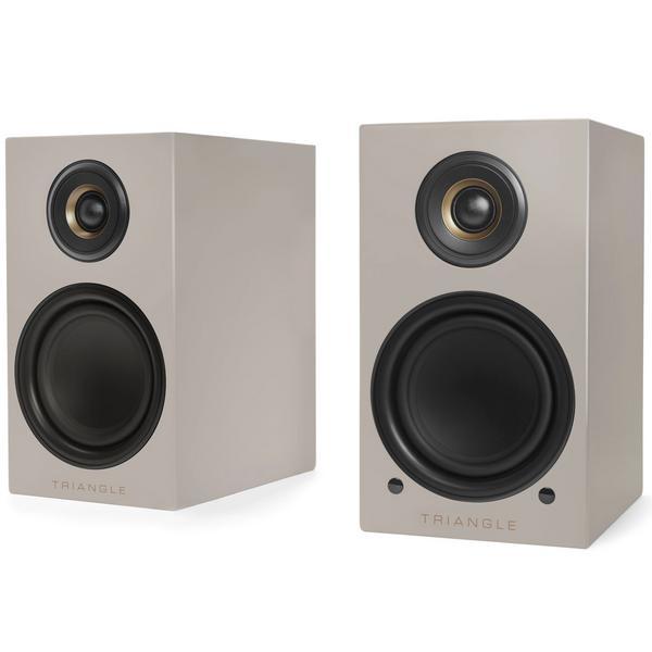 Активная полочная акустика Triangle ELARA LN01A Linen Grey