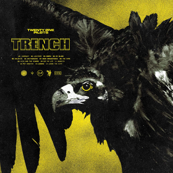 Twenty One Pilots Twenty One Pilots - Trench (2 Lp, Colour) купить в Москве 2019