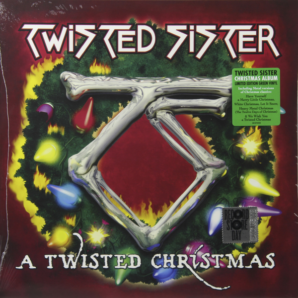 Twisted Sister Twisted Sister - A Twisted Christmas pair of gorgeous twisted circle earrings for women