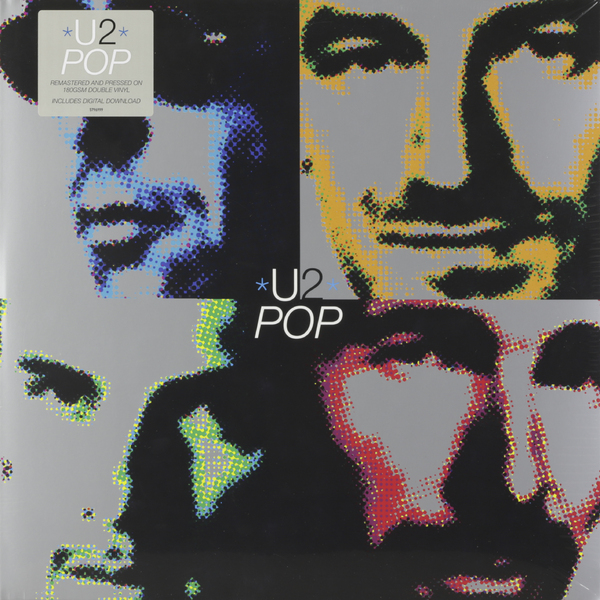 U2 U2 - Pop (2 LP) u2 chile