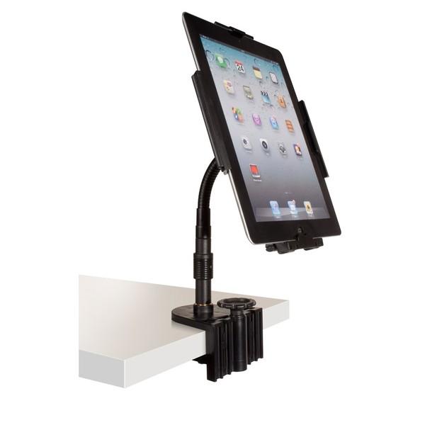 Аксессуар для концертного оборудования Ultimate Стойка для планшета HYPERPAD HYP-100B аксессуар для концертного оборудования ultimate портативная рэковая стойка usl 12