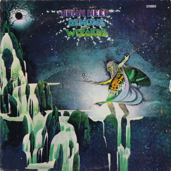 Uriah Heep Uriah Heep - Demons And Wizards (phillipines 1st Press. Deep Groove. Very Rare) (винтаж) free shipping 6908 61908 full zro2 ceramic deep groove ball bearing 40x62x12mm good quality