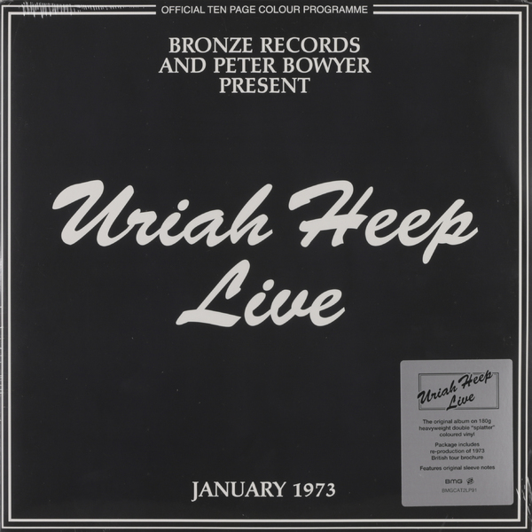 Uriah Heep Uriah Heep - Live 1973 (2 Lp, 180 Gr, Colour) electric kettle 304 stainless steel household cooking 1 2l electric automatic power safety auto off function