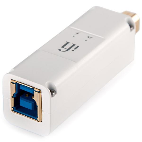 Фото - Сетевой фильтр iFi audio Фильтр USB iPurifier3 B фильтр