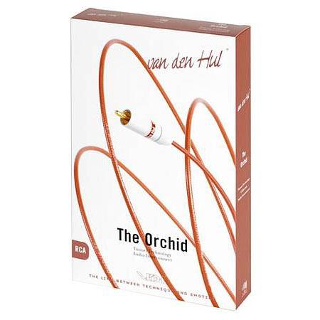Кабель межблочный аналоговый RCA Van den Hul Orchid 1.2 m аксессуар oehlbach nf y sub 8m rca 2xrca red 20567