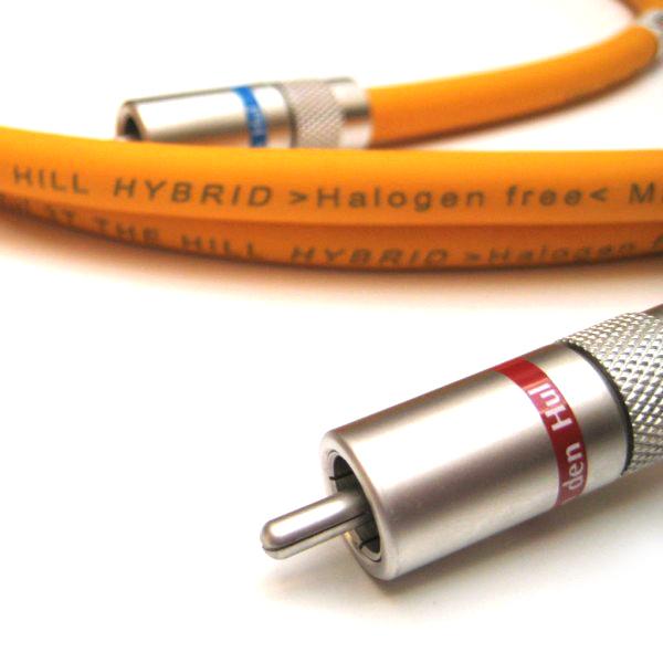 Фото - Кабель межблочный аналоговый RCA Van den Hul The Hill 1 m кабель межблочный аналоговый rca van den hul the sea 1 m