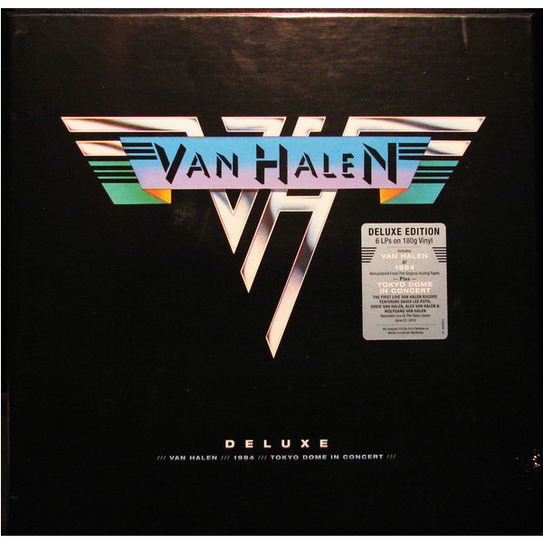 Van Halen Van Halen - Deluxe (6 LP) van halen van halen van halen ii 180 gr