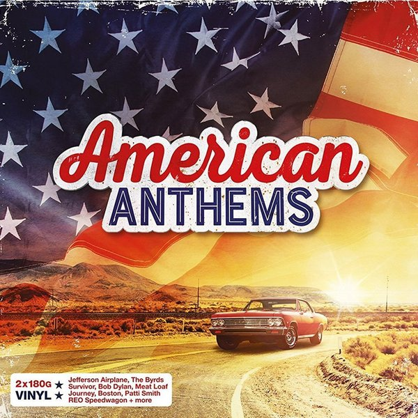 Various Artists Various Artists - American Anthems (2 Lp, 180 Gr) unitoptek outdoor 2mp tvi camera 1080p ir bullet weatherproof 20m ir bullet security cctv hdtvi camera 720p work for tvi dvr