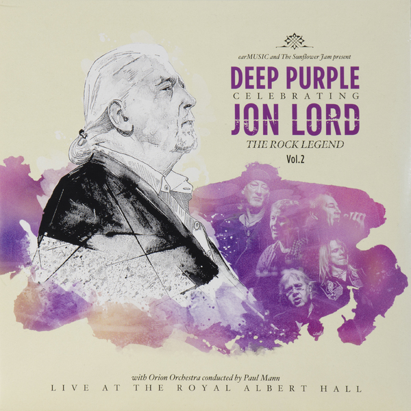 Deep Purple PurpleVarious Artists - Celebrating Jon Lord, The Rock Legend, Vol.2 (2 LP)