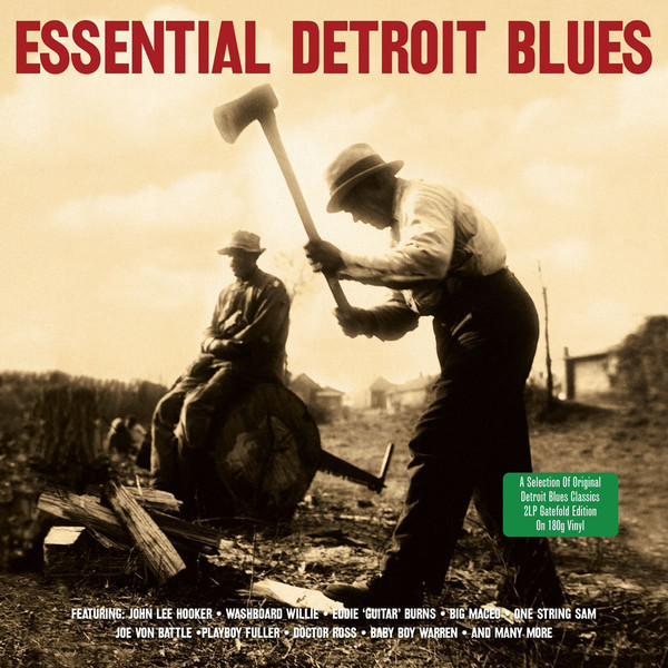 цена Various Artists Various Artists - Essential Detroit Blues (2 LP)