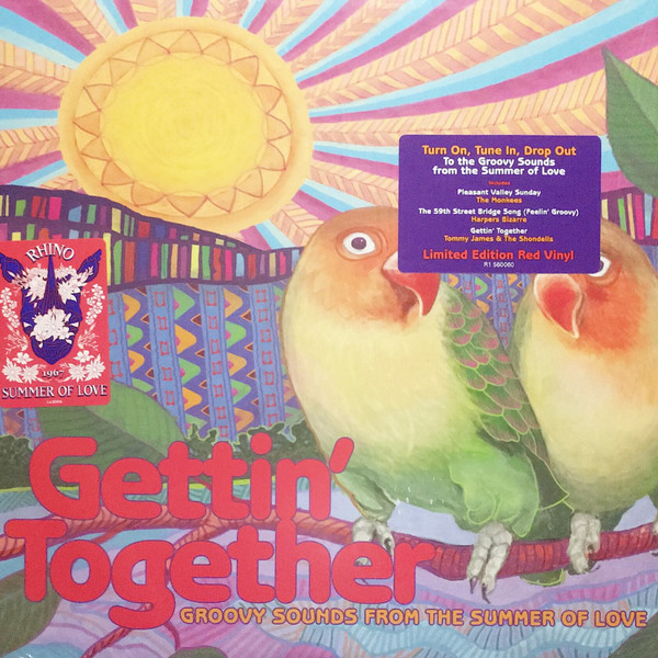 Various Artists Various Artists - Gettin' Together: Groovy Sounds Of The Summer Of Love (colour) various artists dj cutlass supreme presents uk bass