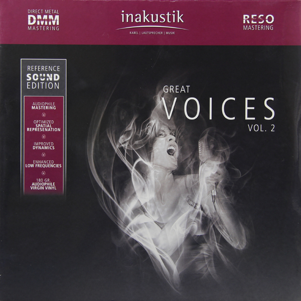 Various Artists Various Artists - Great Voices Vol. 2 (2 Lp, 180 Gr) недорого