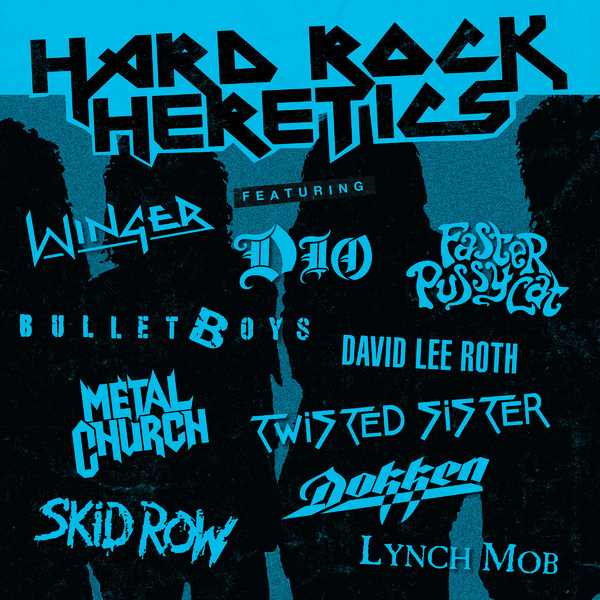 Various Artists - Hard Rock Heretics (colour)