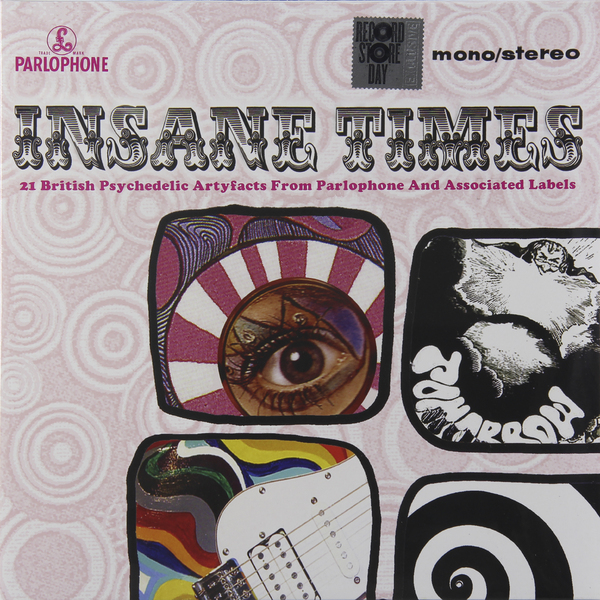 Various Artists Various Artists - Insane Times - 21 British Psychedelic Artyfacts From Parlophone And Associated Labels (2 LP) various artists 80s disco stars live from moskau vol 1