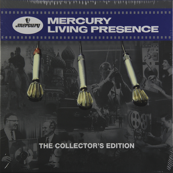 Various Artists Various Artists - Mercury Living Presence: The Collector's Edition (6 LP) various artists various artists the passion of charlie parker 2 lp