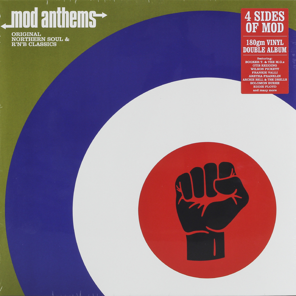 Various Artists Various Artists - Mod Anthems (2 Lp, 180 Gr) цена и фото